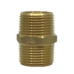 Brass_Hex_Nipple_Male_BSP_1