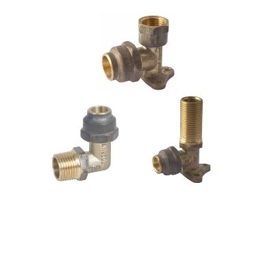 Brass Flared Compression Fittings