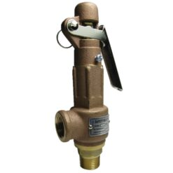 Brass Relief Valve with Lever